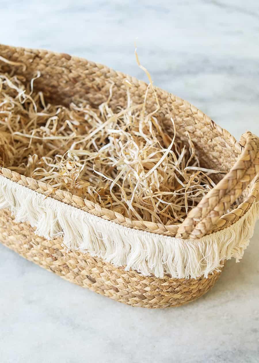 Fringe basket from Target