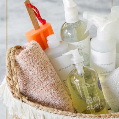 How to Create a Charming Home Cleaning Kit!