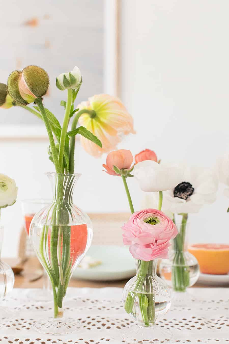 Flowers in a vase.