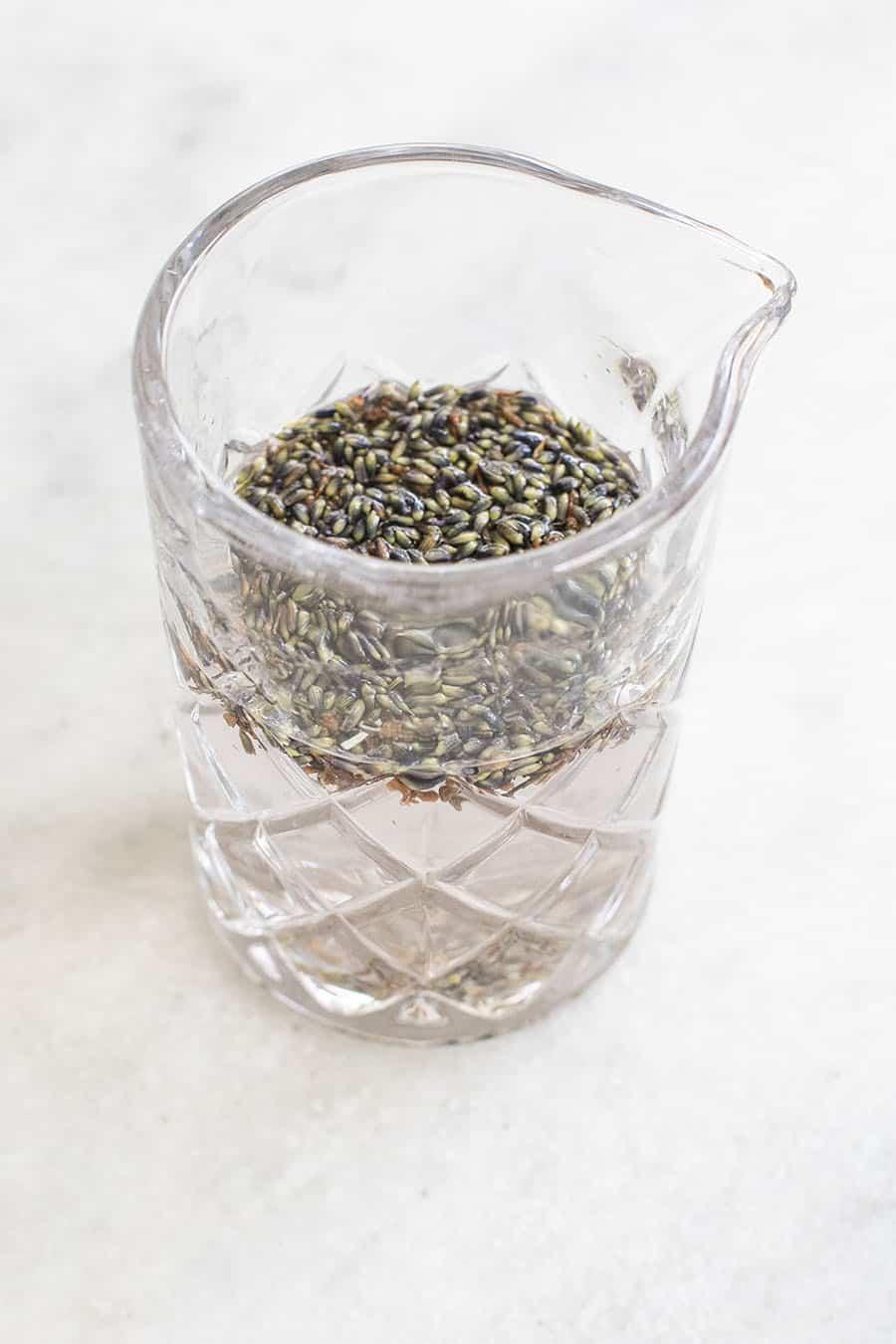 lavender in gin