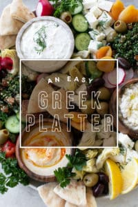 How to Make an Easy Greek Mezze Platter