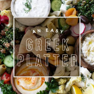 How to Make an Easy Greek Mezze Platter
