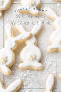 Bunny Sugar Cookie Recipe