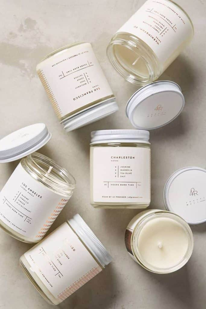 Roam candles make a wonderful housewarming party gift!