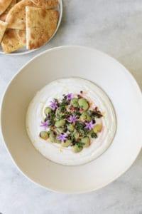 The Best Yogurt Tahini Dip!