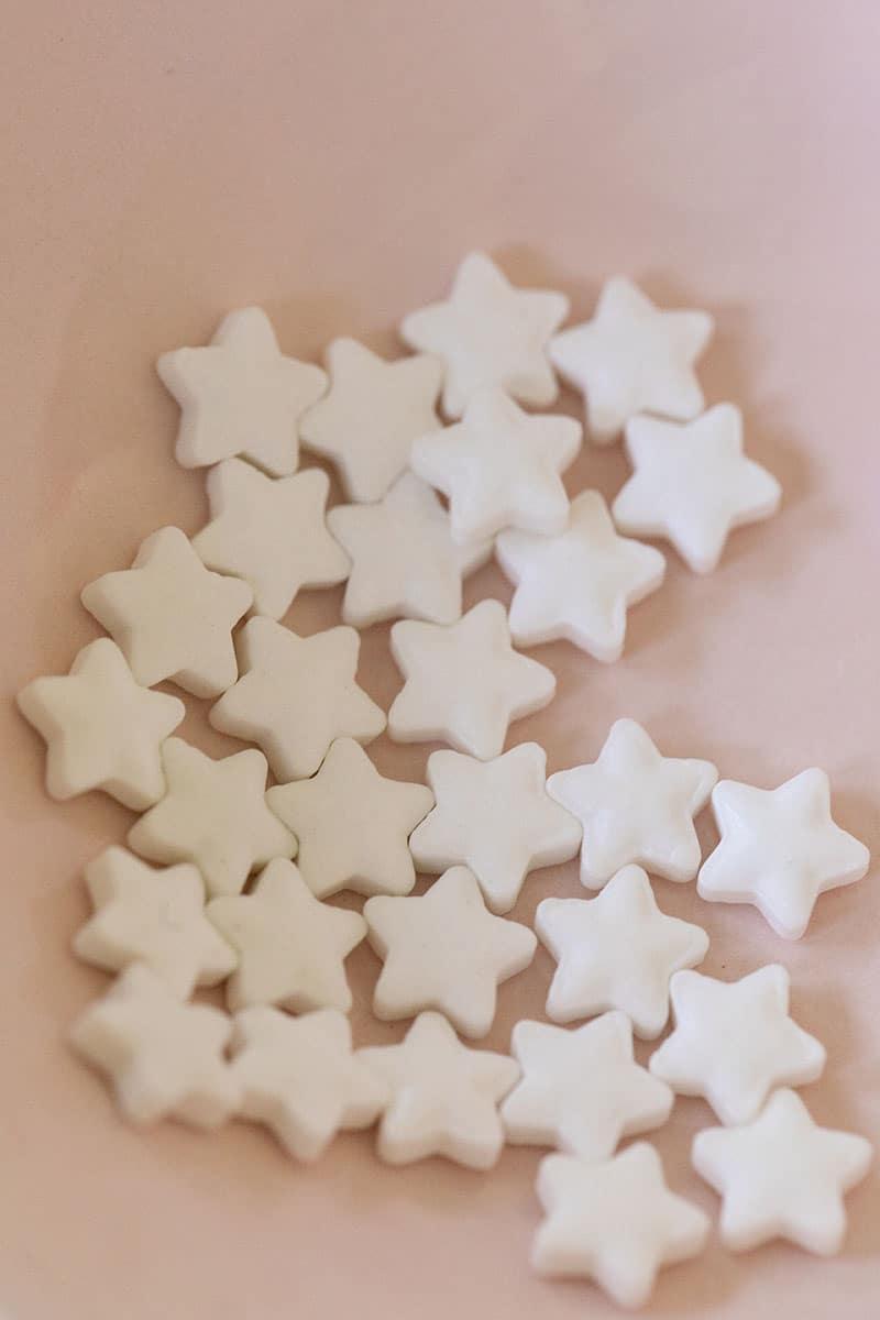 white star sprinkles