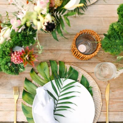 Guide to Hosting a Tropical Summer Party!