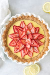 Strawberry Lemonade Pie Recipe