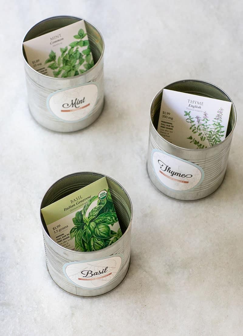 Indoor herb garden kits