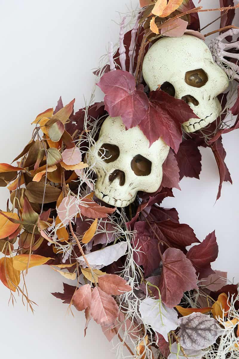 Spooky Halloween wreath from Grandin Road