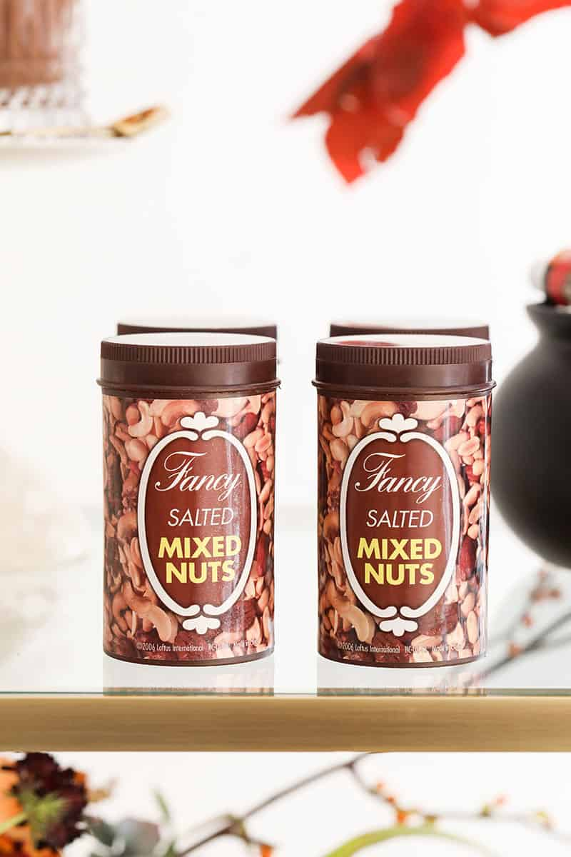 Fancy salted mixed nuts