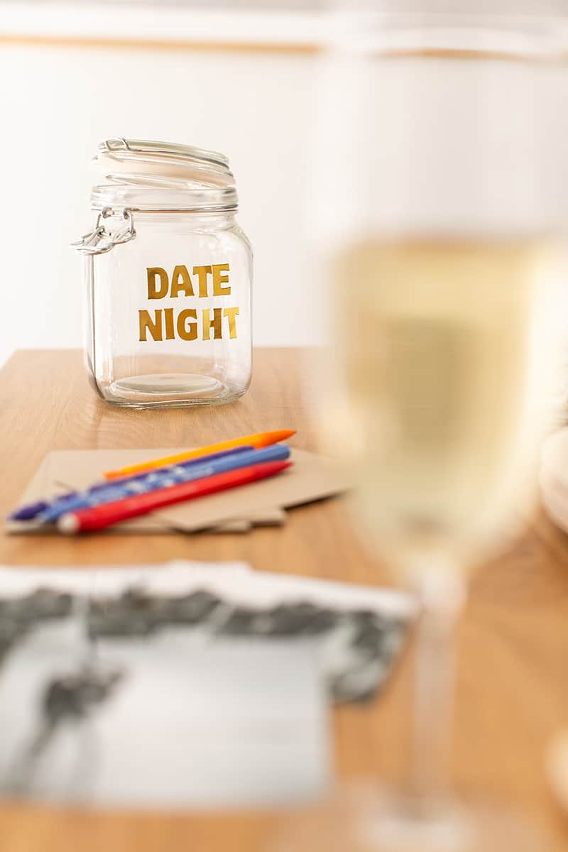 Date night bridal shower game