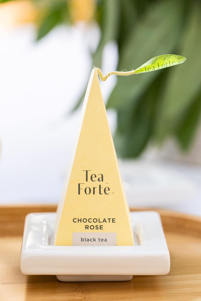 Chocolate Rose Tea