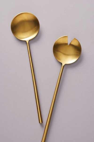 Gold Serveware