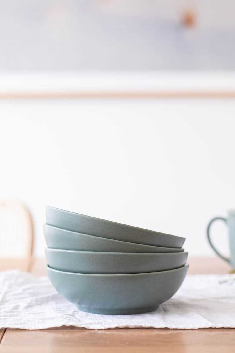 Noritake bowls from Bed Bath & Beyond.