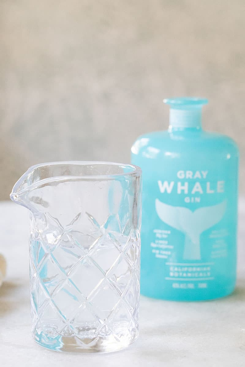 tonic water and gray whale gin