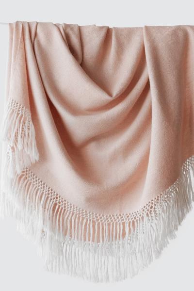 Blanket in Blush