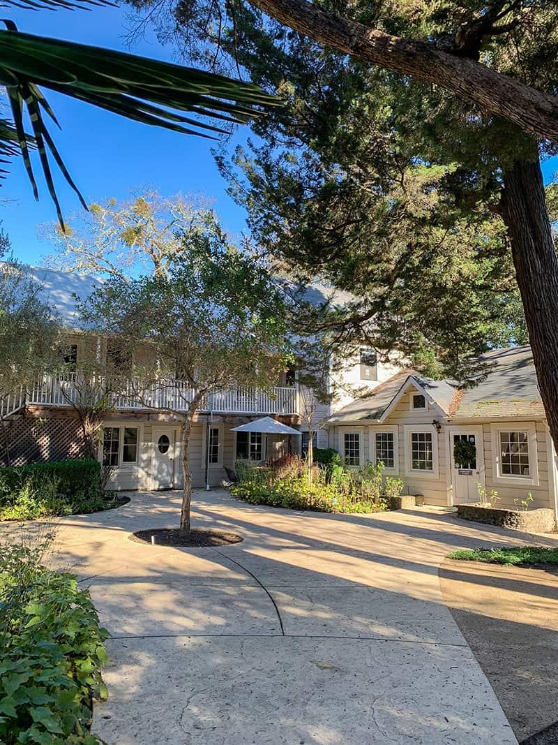 Benzinger farmhouse in Sonoma