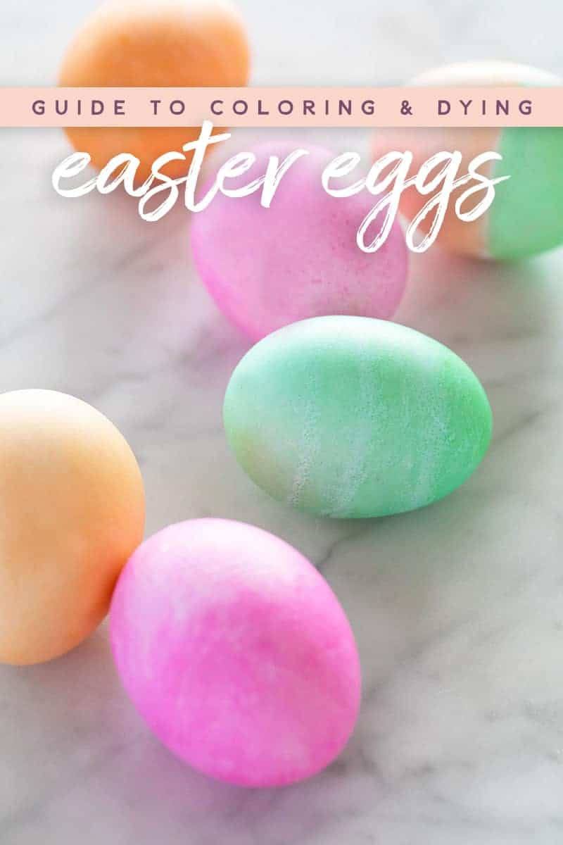 - Ultimate Guide To Coloring And Dying Easter Eggs - Sugar And Charm