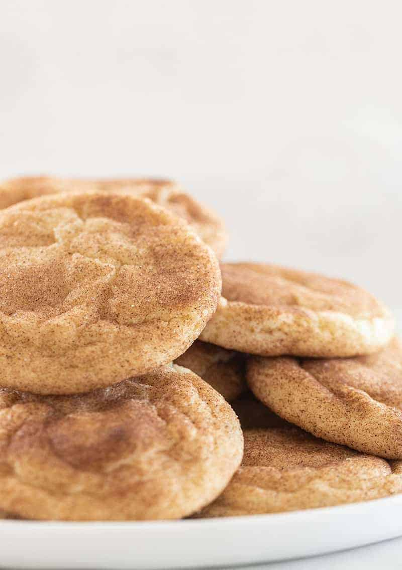 snickerdoodle cookies for a fall dessert.