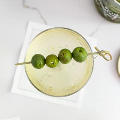 How to Make a Dirty Martini!