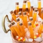 How to make Candy Corn Vodka Halloween Shots!