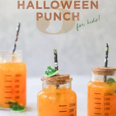 Three Ingredient Halloween Punch for Kids!