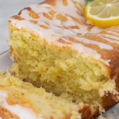 The Best Rosemary Lemon Loaf Cake
