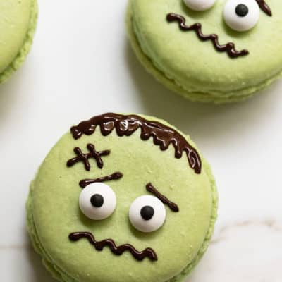 How to Make Frankenstein Macarons