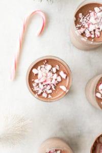 Peppermint Chocolate Panna Cotta Recipe