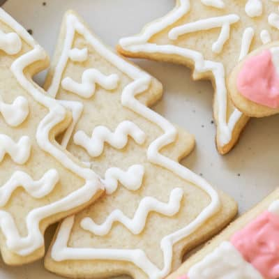 Cutout Sugar-Free Cookies Recipe
