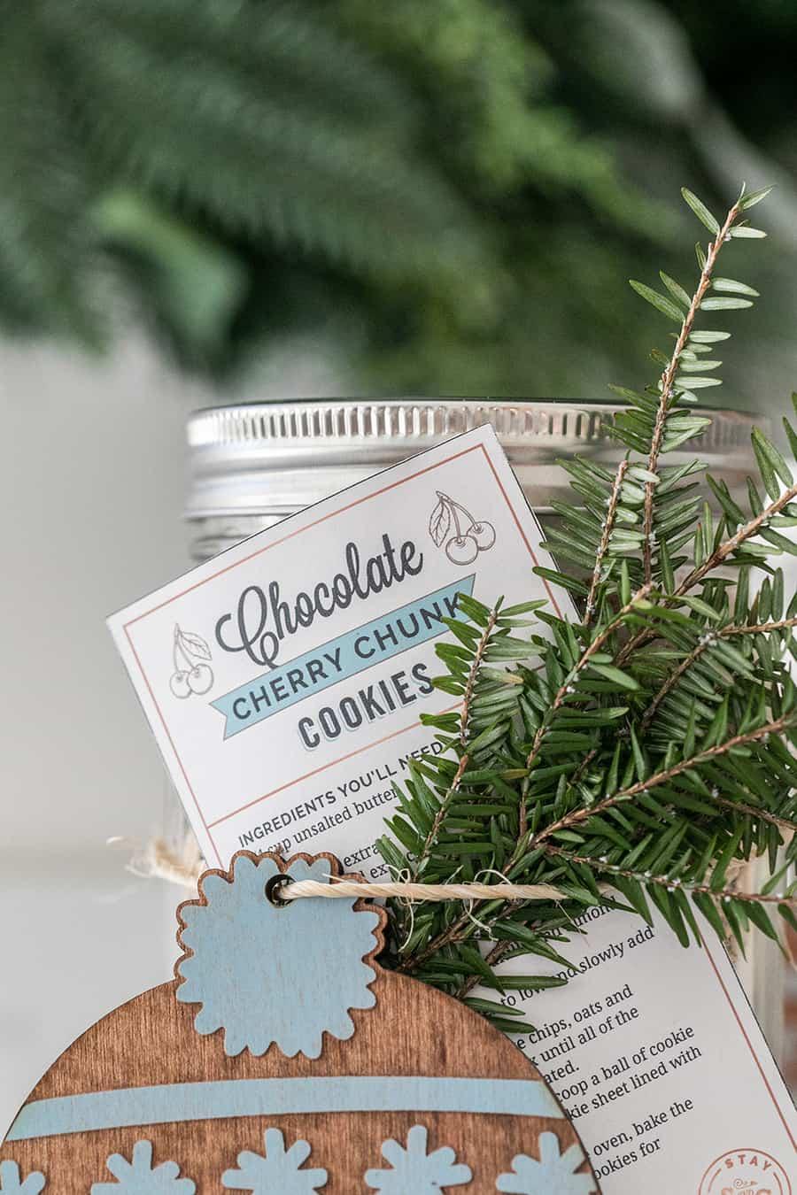 Cookies in a jar tag