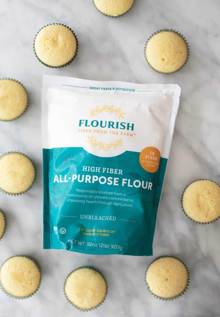 Flourish Flour an all-purpose flour that is high fiber