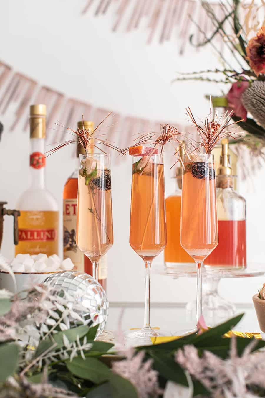 New Year's Eve Champagne Bar