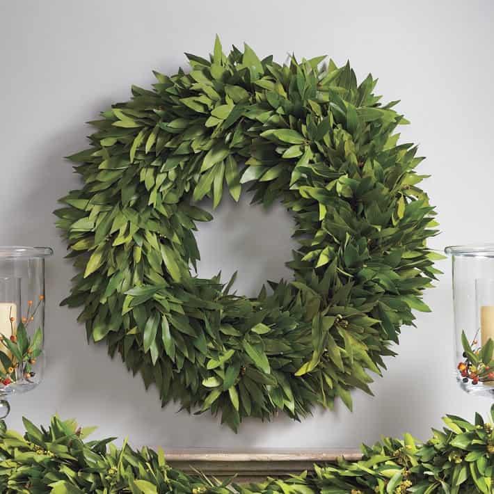 Bay leaf wreath