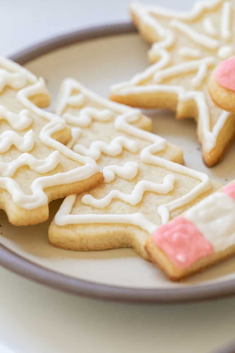Sugar free Christmas cookie cut out
