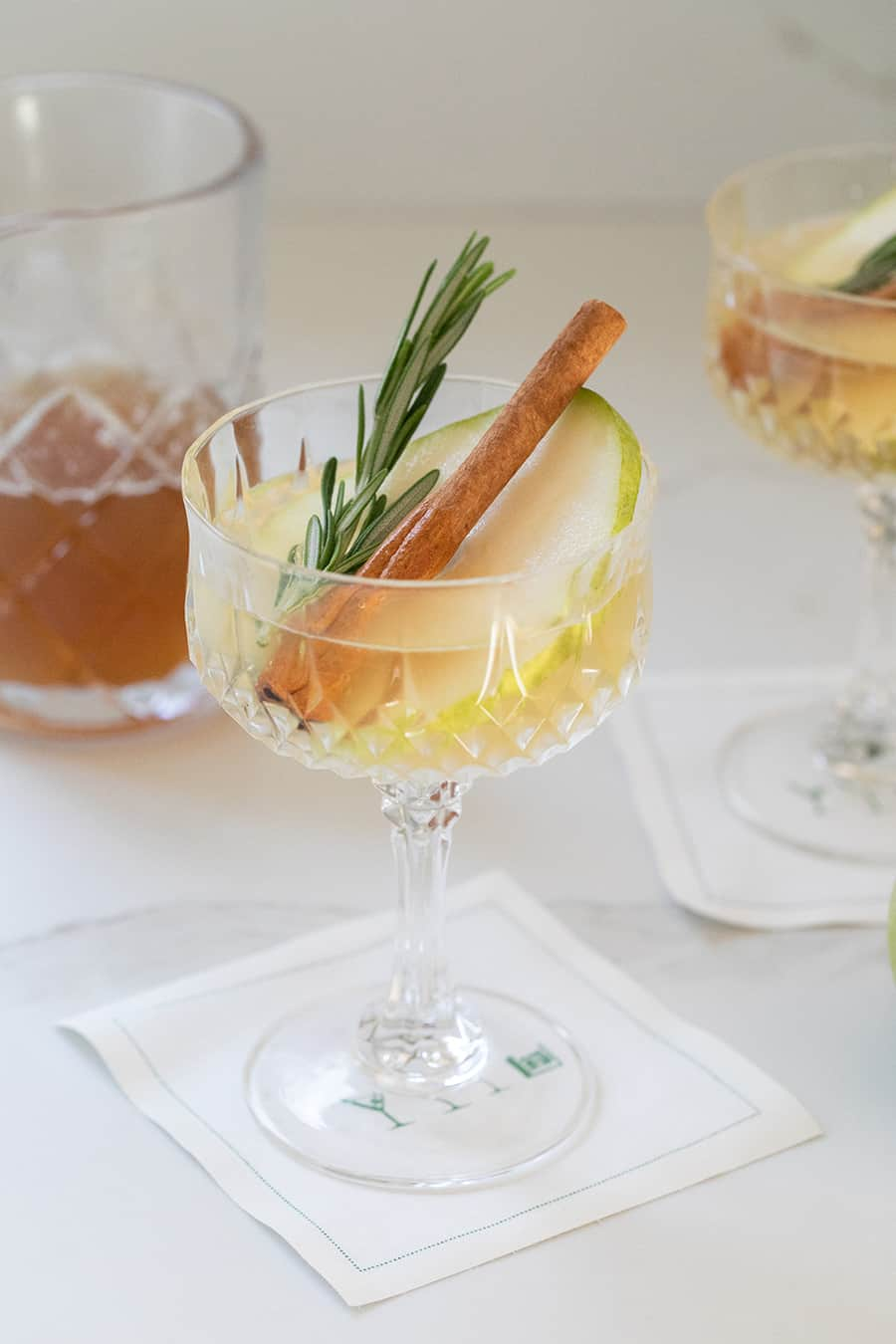 A partridge in a pear tree cocktail