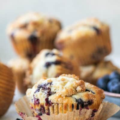 Perfect Homemade Blueberry Muffins