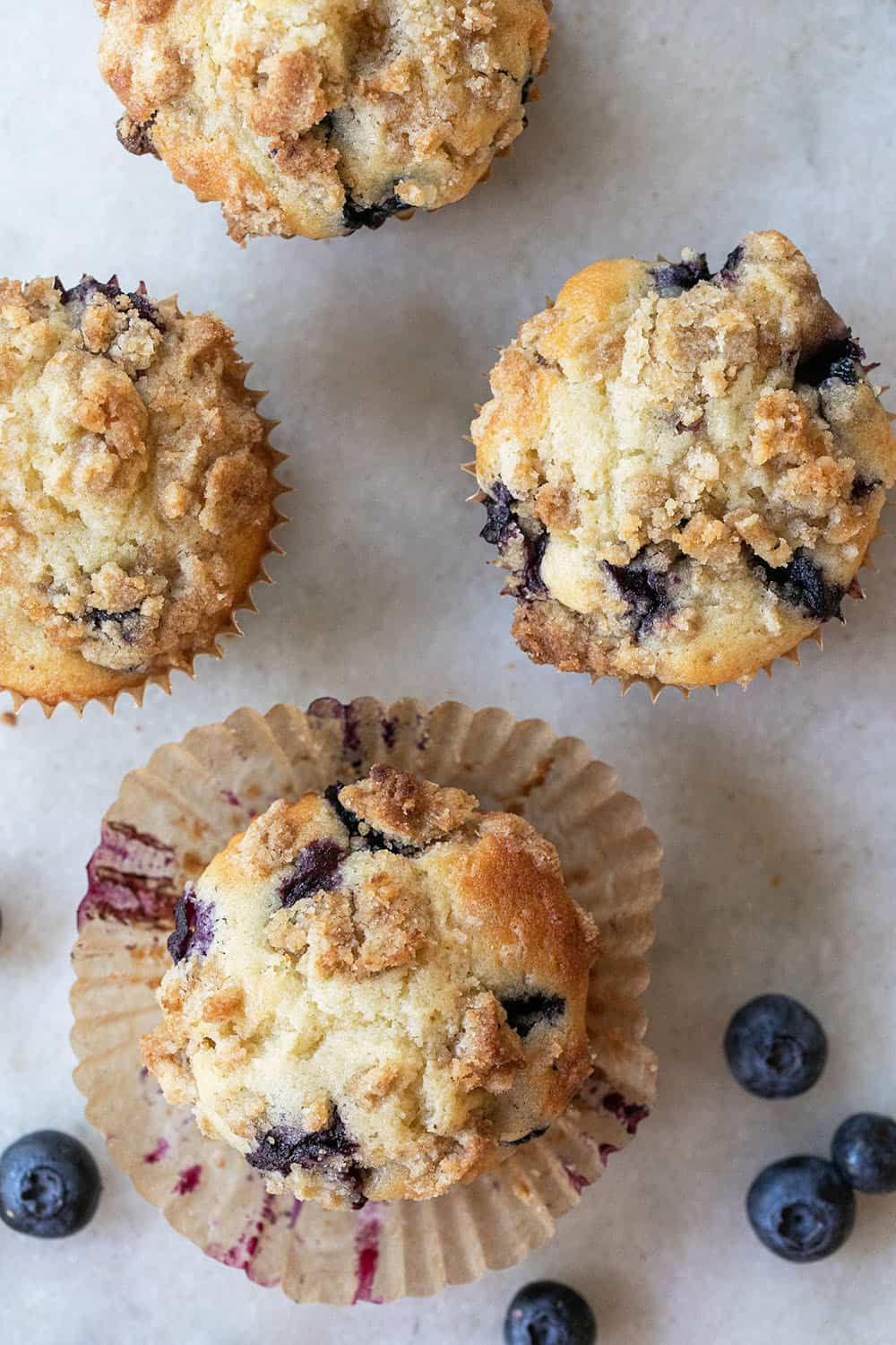 homemade muffins with berries