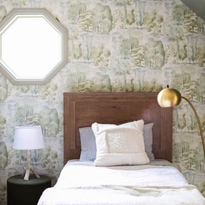 Charming Woodsy Kids Bedroom