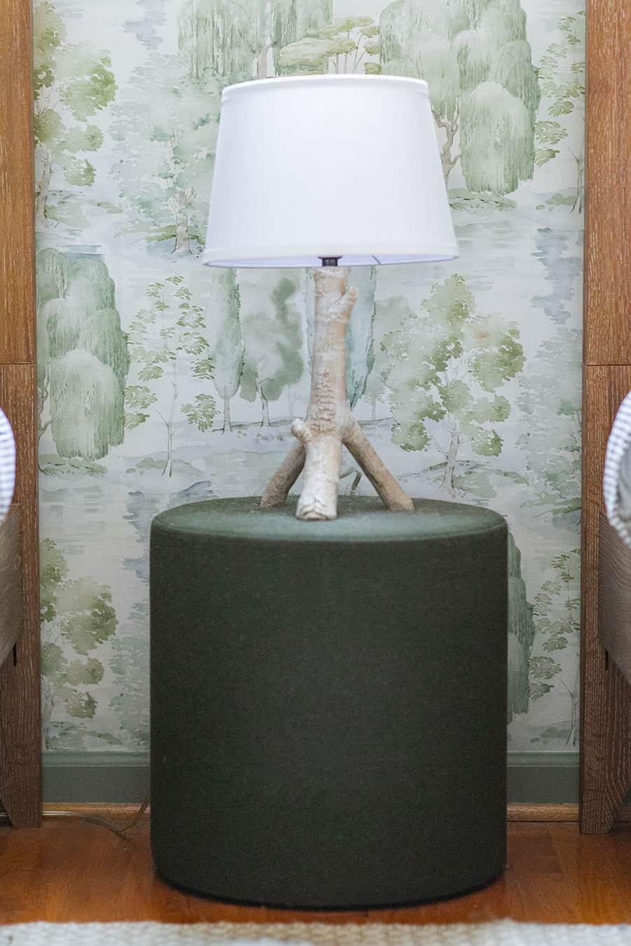 Birch lamp from Pottery barn kids