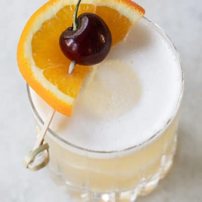 A Classic Whiskey Sour Recipe