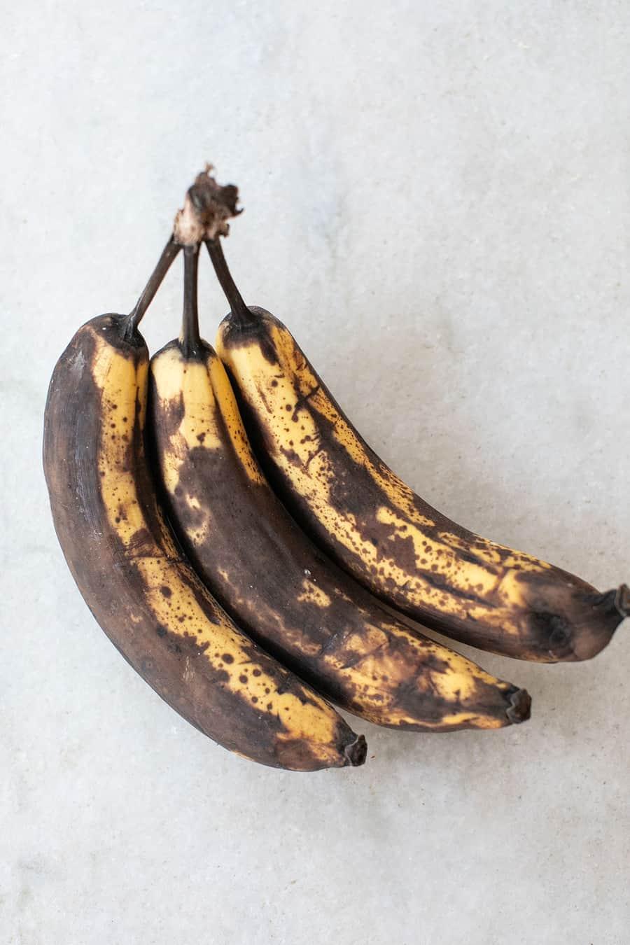 Super ripe bananas to make bread