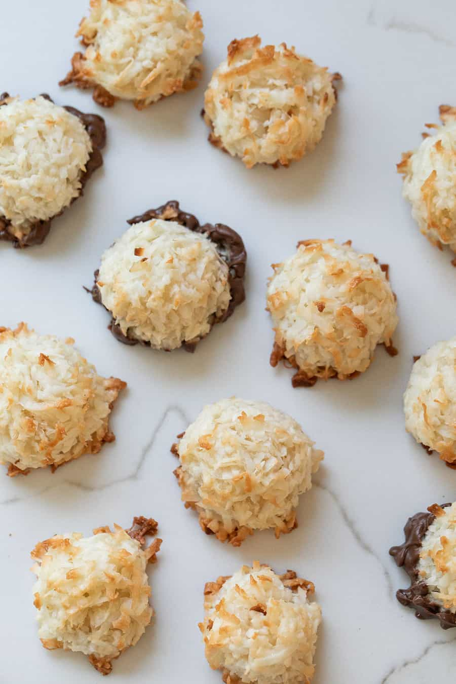 Coconut macaroons without sweetened condensed milk