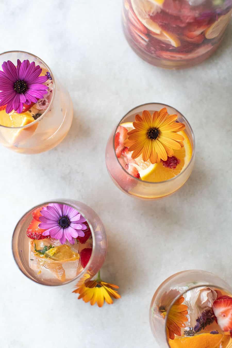 Floral Sangria recipe