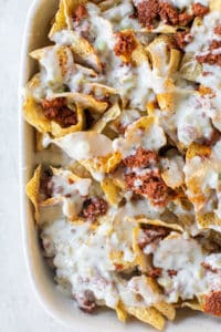 nachos with queso blanco
