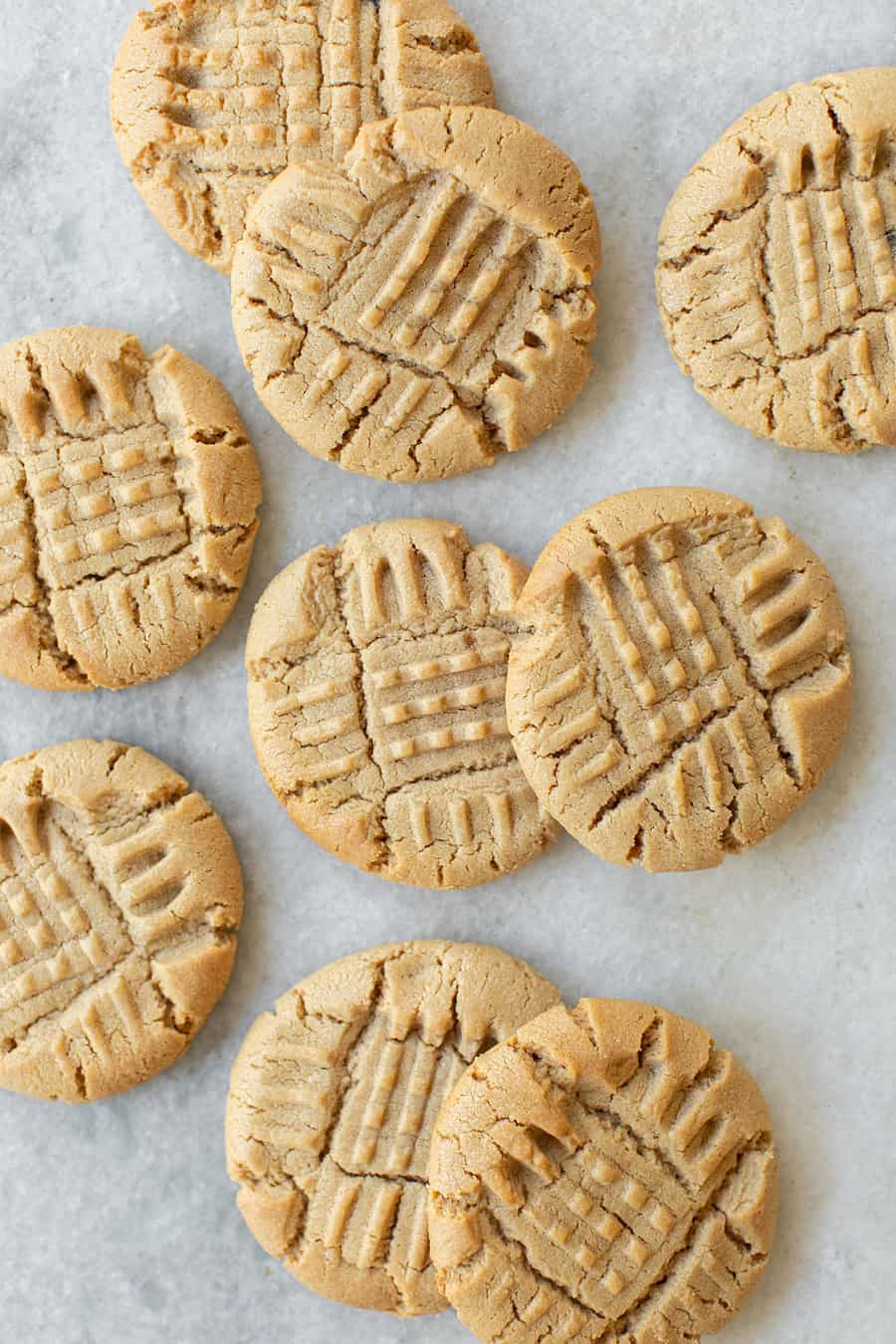 cookies with peanut butter and for marks