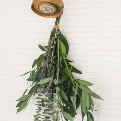 How to Add Eucalyptus in the Shower