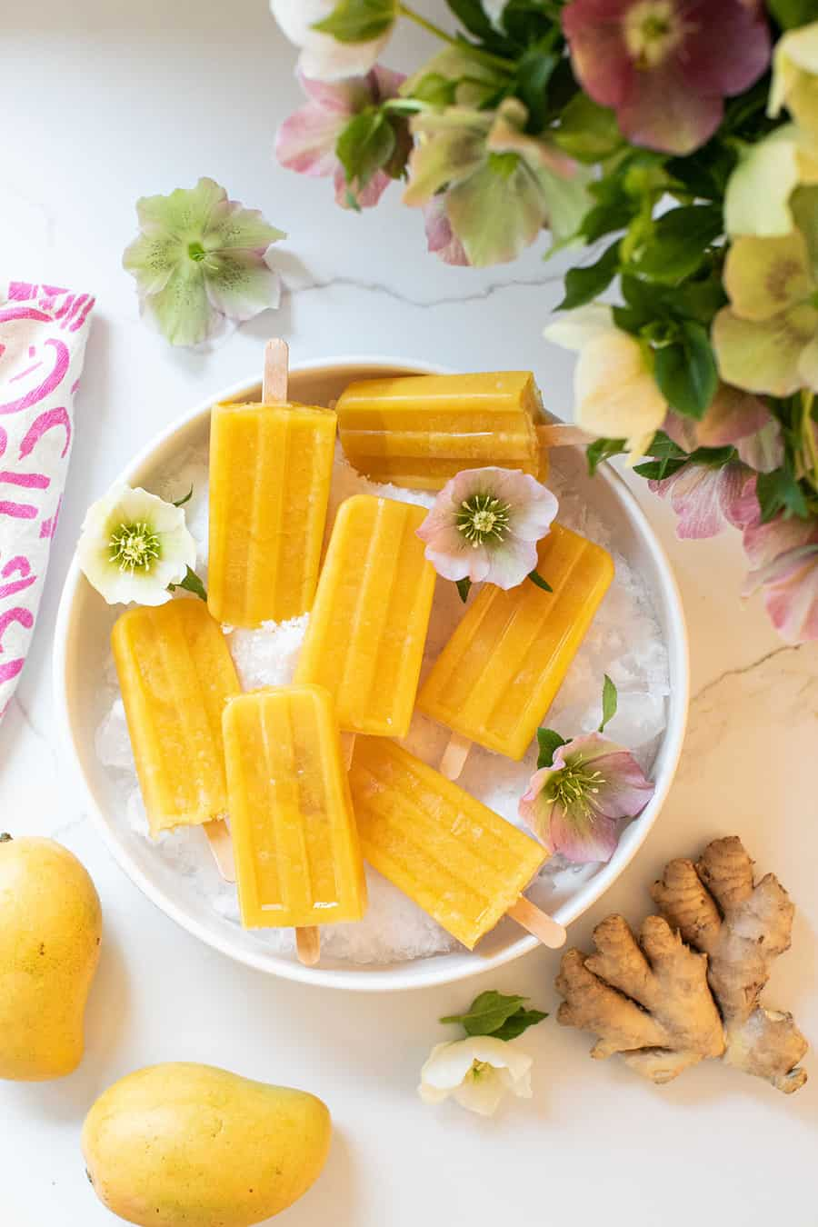 Papaya Mango Popsicle Recipe