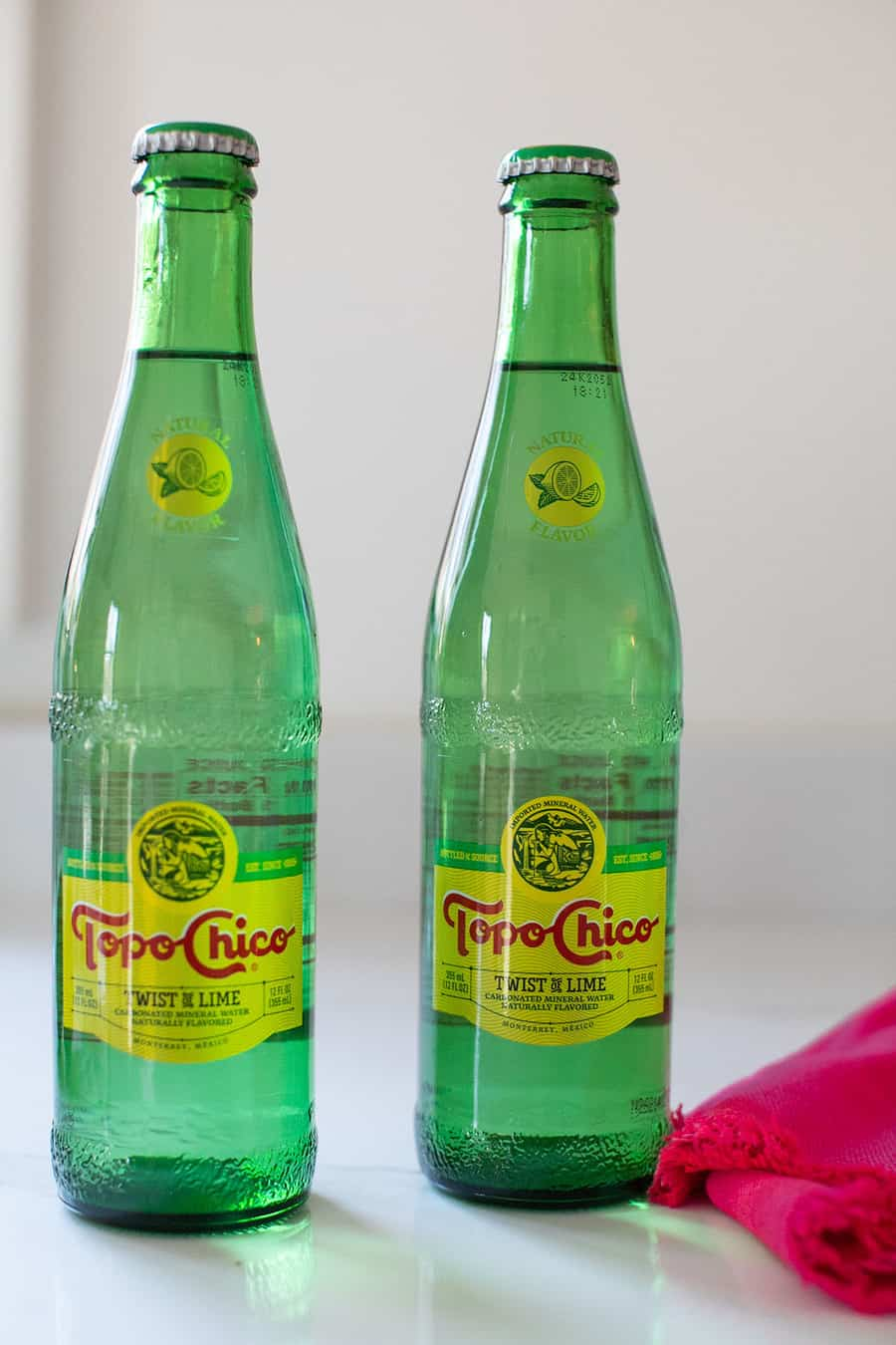 Topo Chico cocktail in a bottle